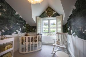 NORDAN 3 BEDROOM HOME NURSERY WINDOW- SEAGREEN